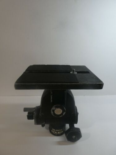 Vintage Majestic Geared Tripod Head Model 1200