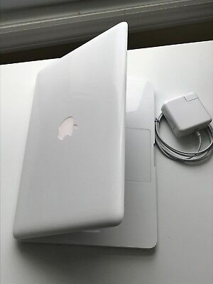 "Apple MacBook White 13"" 2009 /500GB HDD 4GB Ram-LATEST MAC OS 2017- Office 2016"""