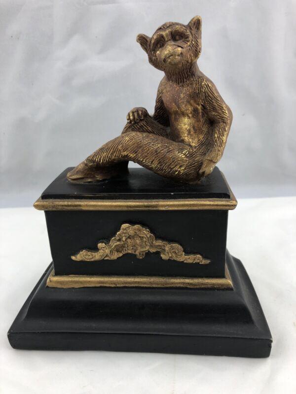 """Monkey  Statue 7 1/2""""  Animal Figure Decor Holy Fudge Monkey You Need This!!"""