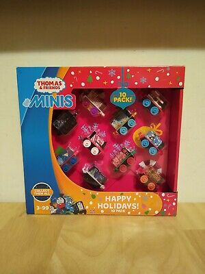 Thomas and Friends Minis Happy Holidays 10 Pack Factory Sealed