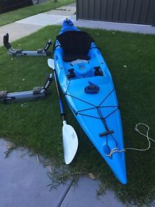 Mission Xstream 420 Kayak with Hullavator 897XT Brooklyn Park West Torrens Area Preview
