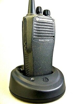 Mint Motorola Cp200 Vhf 4ch Radio Waccessories