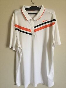 Nike drifit golf shirts.