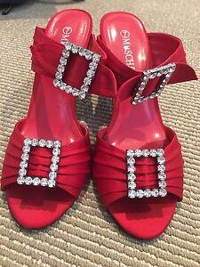 Red size 7 mischief heels Peregian Beach Noosa Area Preview