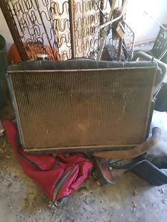 Nissan navara d22 radiator