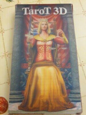 Tarot 3D (Lo Scarabeo) - 22 Tarocchi con immagini tridimensionali - Scatola 3D
