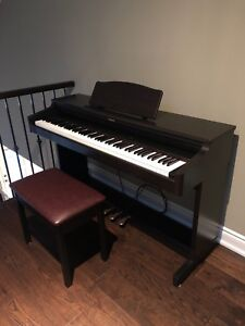 Roland HP236 Digital Piano w/Bench, Excellent Condition!