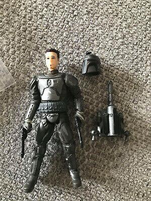 "Star Wars 3.75"" 30th Anniversary Figure - B'arin Apma - Mandalorian Barin Rare"