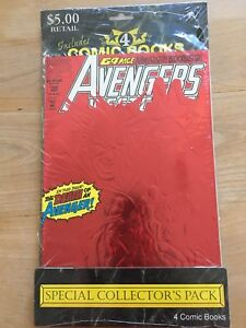 Collectors 5 pack unopened comic books
