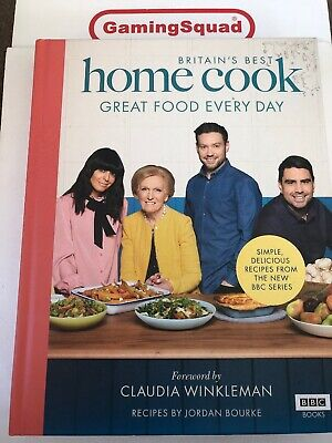 Britain's Best Home Cook, Jordan Bourke HB Book, Supplied by Gaming