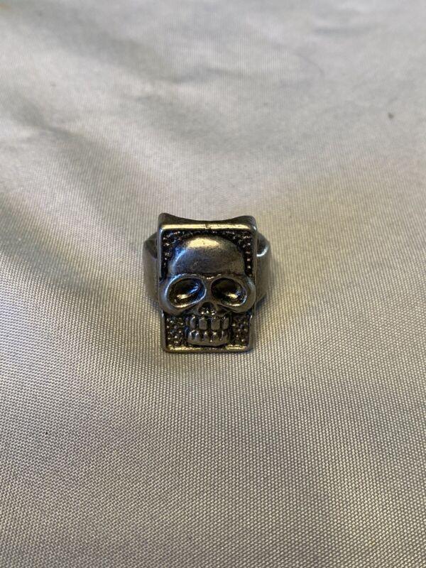 1996 The Phantom - The Ghost Who Walks Metal Skull Ring
