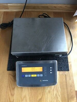 Sartorius Scales Combics 2 Model Cis2 Type Tn With Is16ede-h Platform
