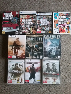 Bulk Lot Of 50 PC Games Titles Include  GTA COD Halo Gears of War