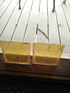 Leadlight window panels - Edwardian period (yellow) 4