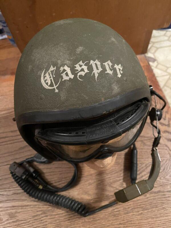 Original US Army Cold War AFV Crew Helmet