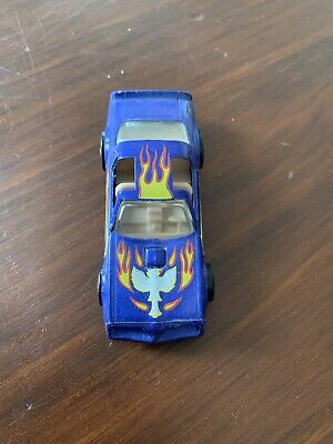 "Hot Wheels ""Hot Bird"" Pontiac Trans Am Diecast Car Blue Flake #37 (Mattel, 1977)"