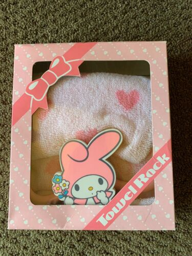 Very Rare Vintage Sanrio My Melody 1976 Towel Rack