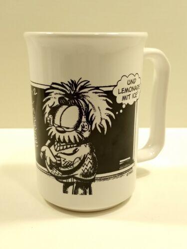 "PAWS GARFIELD ""ALBURP EINSWINE"" E=MC2 Coffee Mug Funny Comic Quality Cup"