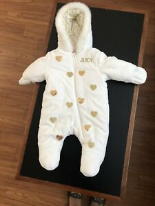 Juicy couture baby winter suit 3-6 month