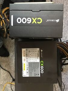 cx600 non modular power supply