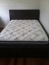 Double bed, mattress, red four seater lounge and dining table Bexley Rockdale Area Preview