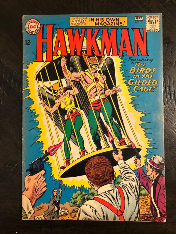 Hawkman 3 DC Silver Age Gemini Mailer Justice League Hawkgirl Cover