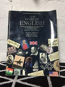 THE STORY OF ENGLISH by Robert McCrum, William Cran & R. MacNeil Thornbury Darebin Area Preview