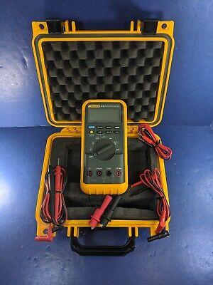 Fluke 87 Iii Trms Multimeter Excellent Screen Protector Hard Case Accessories