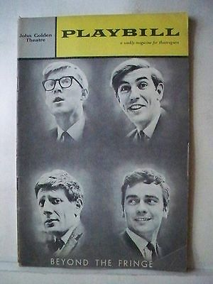 BEYOND THE FRINGE Playbill DUDLEY MOORE / PETER COOK / ALAN BENNETT 1962