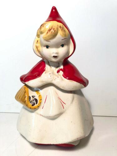 Hull Vintage ~ McCoy ~ Little Red Riding Hood ~ Cookie Jar