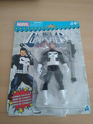 "MARVEL LEGENDS RETRO COLLECTION PUNISHER 6"" ACTION FIGURE"