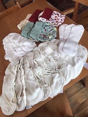 Grovia Cloth Diaper Liner Soaker Pad Booster Lot