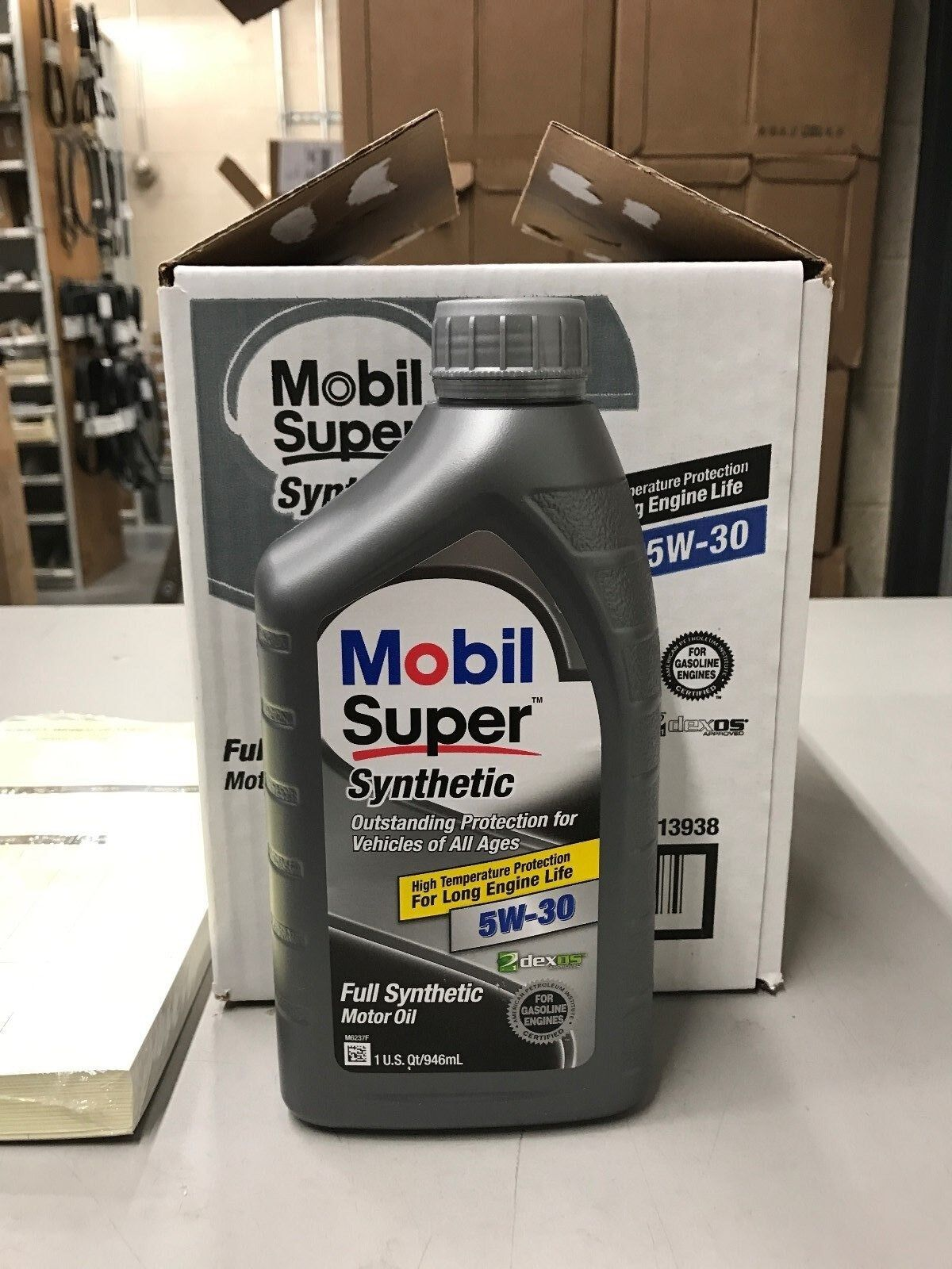 6 quarts of 5w30 mobil super synthetic motor oil new for for 5w30 motor oil sale