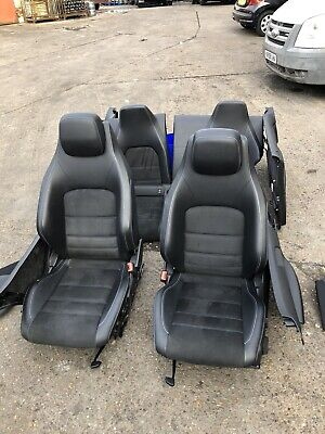 Mercedes C Class Coupe W204 09-13 Leather Seats Interior Complete & Door Cards
