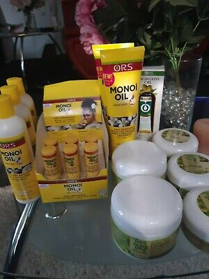 ORS Natural Hair Care LOT Monoi Oil LOT for sale  Shipping to India