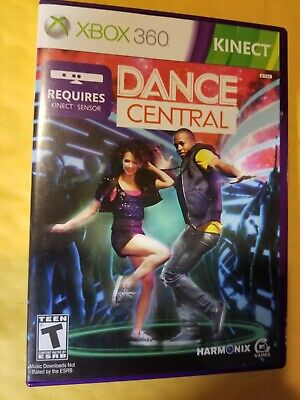 Dance Central Xbox 360 Kinect Game Complete Free Shipping!!