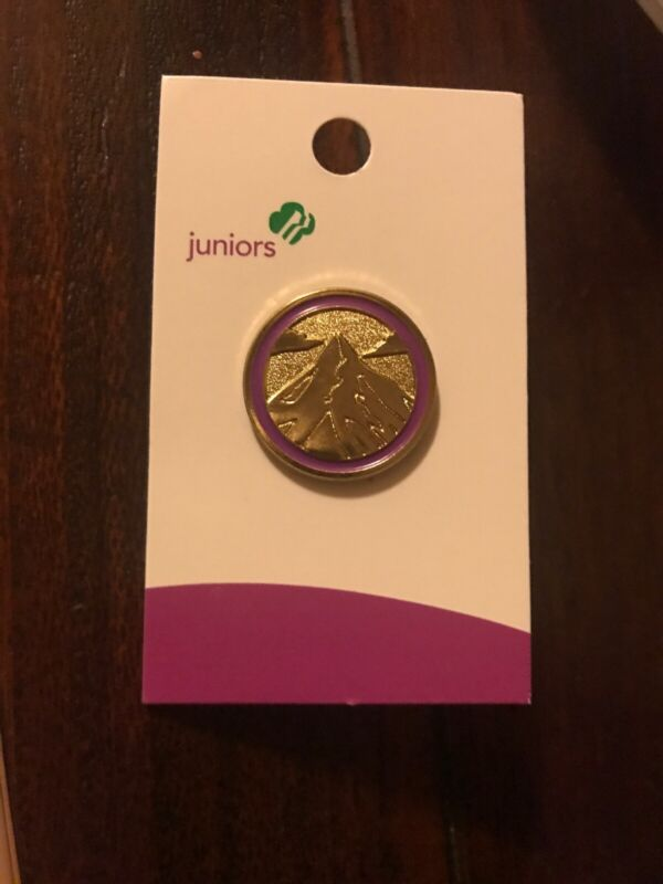NEW Girl Scout Juniors- JOURNEY SUMMIT AWARD PIN Leadership Highest Earned Award