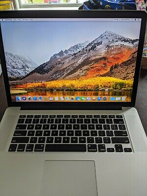 "Apple MacBook Pro 15"" 2.6 GHz i7 1TB HD 16GB RAM 2GB GFX Late 2013 Laptop"