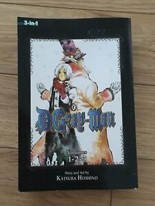 D. Gray-Man 3-in-1 manga book (MUST BE SOLD BY THIS CHRISTMAS!!)