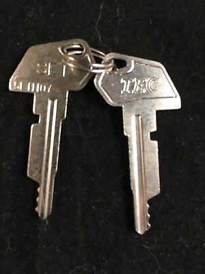 Tec Cash Register Set Key 5l11107 Set Of 2
