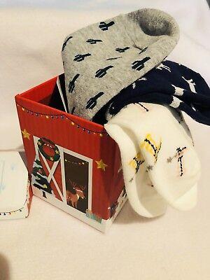 Western Boot Socken (women Ankle Socks Western Cactus Boots Horses In Red Barn Christmas Box Gift Set)
