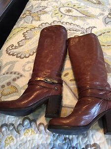 Italian Leather Boots - size 37