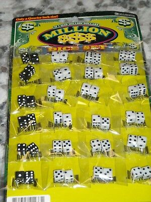 - Lot of 24 Mini Dice Game Board Replacement Games NEW