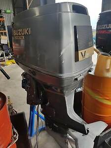SUZUKI 150 V6  2 Stroke Outboard Largs North Port Adelaide Area Preview