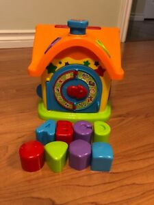 Interactive toy house