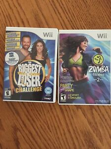 Wii Zumba and biggest loser
