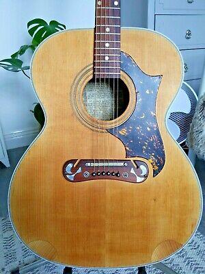 Rare 1960's Klira Jumbo Dove Acoustic Guitar