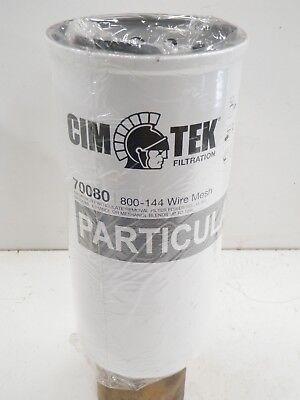 Cim-tek 70080 144 Micron Wire Mesh Fuel Filter