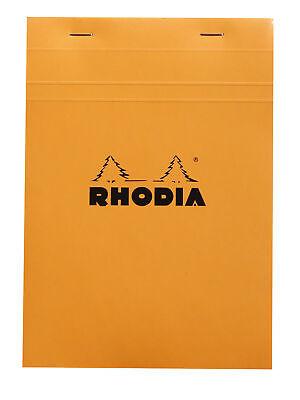 Rhodia Staplebound Notebook 6 X 8 Graph Paper Orange