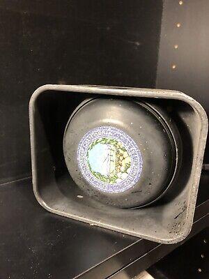 Code 3 Police Siren Speaker Heavy Duty All Metal. Prior Anaheim Pd. So Loud